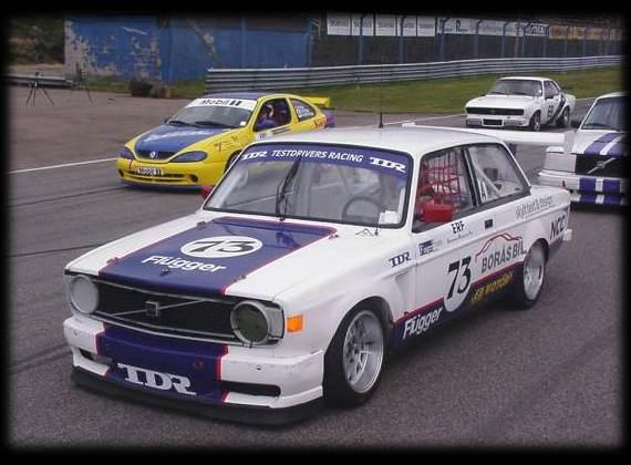 Volvo Adventures, 142 Racecar Spec, Test Drivers Racing, Sweden