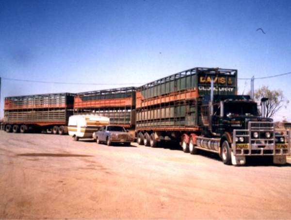 18 wheels of steel pedal to the metal road train: