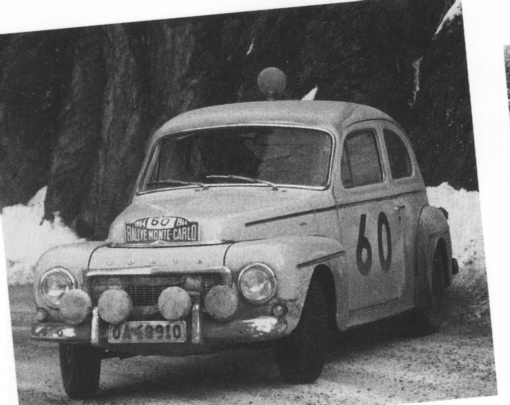 Volvo Adventures, New Zealand - Volvo PV544Race and Rally history