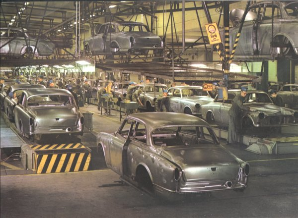 Volvo Adventures, Volvo assembly plants