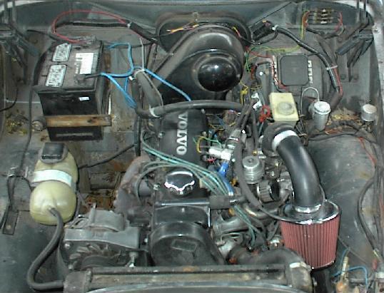 B Ms on Volvo 240 Fuel Pump