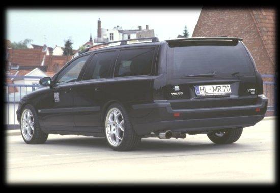 NEW ! NEW !! 1995-2000 VOLVO V70 ROOF SPOILER  !! NEW !